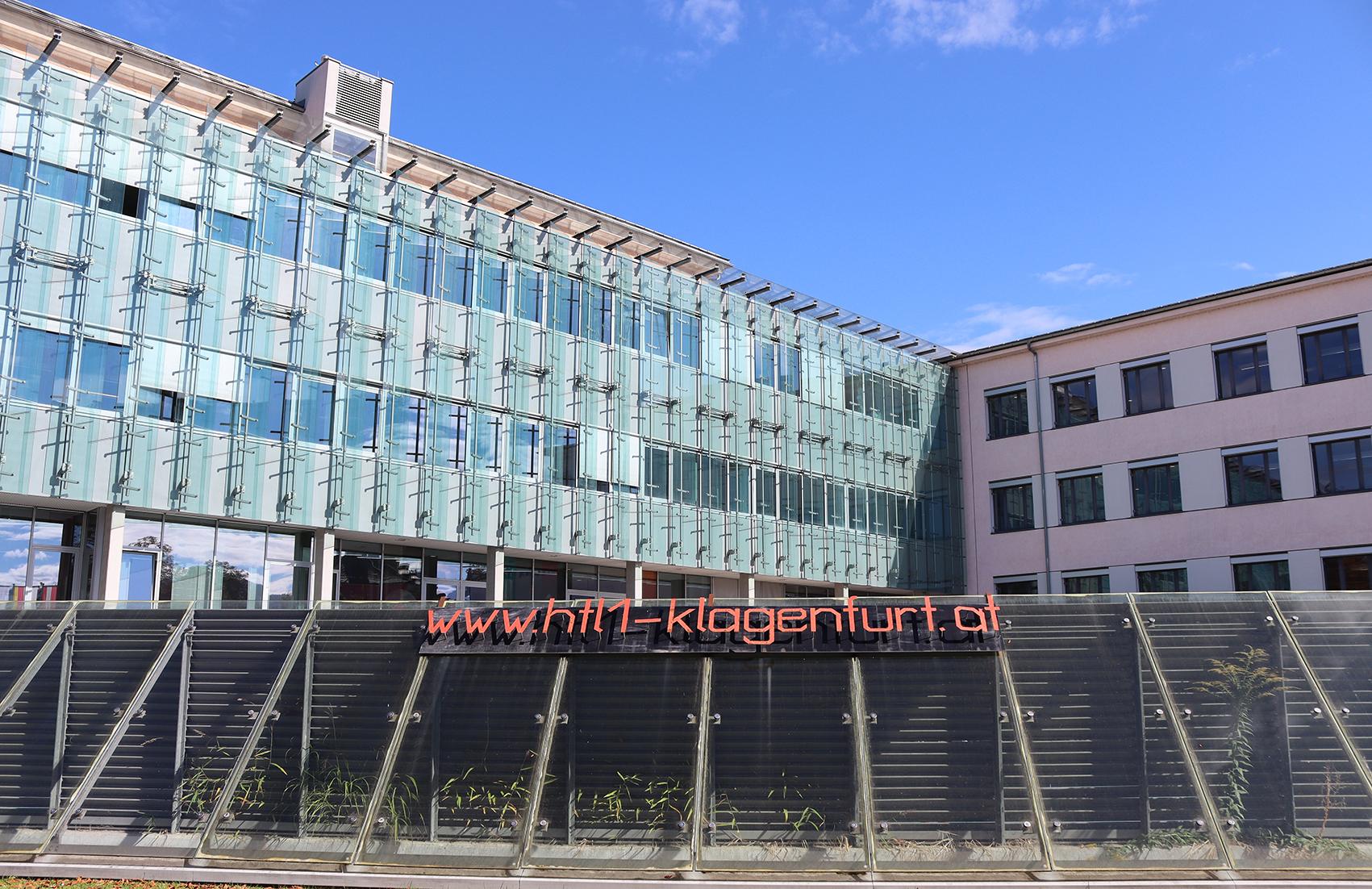 Projektstandort: HTL1 Lastenstraße, Klagenfurt a. Ws., Quelle: HTL 1